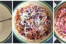 Salades lekker en fris !