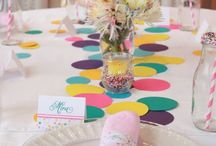 Perfect Pinning-Confetti Theme / Confetti party Inspiration