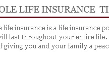 Compare whole life insurance rates / by Gracia Kittles