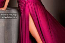 šaty Blanca Matragi