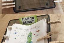 turn in work tray