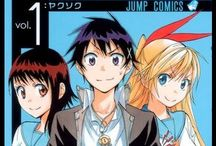 Nisekoi Manga / Genres: Comedy, Harem, Romance, School Life, Shounen, Slice Of Life  Raku Ichijou may be the heir to a yakuza group, but he's a normal high school kid who dreams of peace and quiet. However, when he meets super-hot but violent transfer student Chitoge Kirisaki, his life takes a sharp turn for the worse!