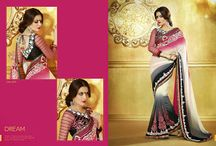 Party Wear Saree Online Shopping / Jugniji.com : A huge sparkling collection of Indian ethnic wear in our attention-grabbing online showroom whose variety is growing every month.## http://goo.gl/2nFTy5