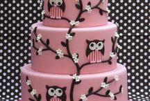 Girly cakes and cupcakes / Things that catch my eye! For the girls....