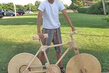 Timber bike