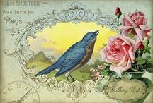 Imágenes decoupage:Postcards