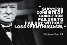 Winston Churchill / Powerful quotes from a business leader.