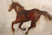 Nicole Pletts paintings - Horses / Paintings of horses...