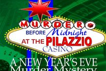 New Year's Murder Mystery Party Games / NYE murder mystery party games.