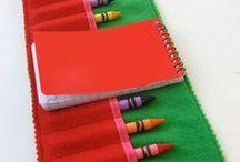 crayon roll