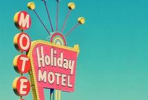 Motels / Sign enseignes d'hôtels