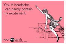 headache / by Little Manda