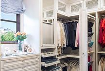 Creative bedroom & closet spaces / by Angela Norton