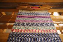 Hand weaving designs
