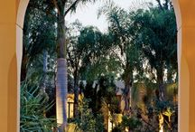 Courtyards and patios / by Meg Van Lith