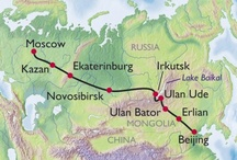 Trans-Siberian Rail / by Barbara Smith