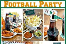 It's football time!! / Food and decirating