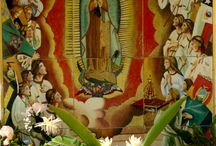 Virgin Mary in Mexico / The sweet Mexican people have a love and affinity for anything that resembles the Virgin Mary in any of her many forms