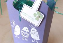 Stampin' Up! ~ Fry Box / Inspiration for Stampin' Up's Fry box die