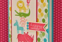 Zoo babies cards