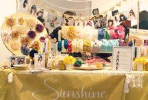 Craft Sale displays