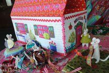 maisons et roulottes / by Yaya Lululili