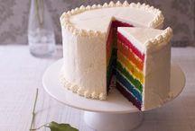 Gâteaux Multicolores