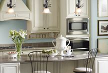 Beautiful kitchen and island whow!!