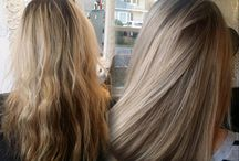 Les cheveux raides
