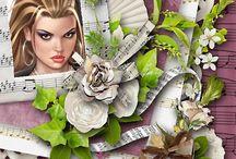 I love PSP / Meine digital erstellten Bilder mit Photoshop