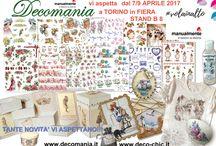Manualmente Torino Aprile 2017: STAND DECOMANIA