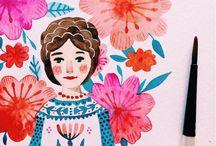 illustrations & paintings