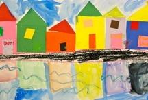 Kids Art Lesson Ideas / Art lesson ideas / by Stacy Spangler