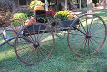 Wagon Decorations / by Kathy Faul