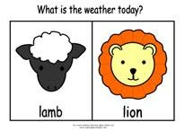 """""""In like a Lamb out like a Lion"""""""