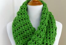 infinity scarves patterns / by Donna Trout