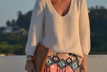 Woman fashion / Cool look / Clothes and such