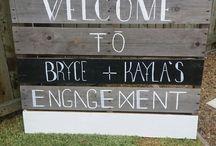 Engagement Party / Backyard celebration
