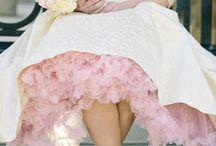 Esküvő - Rózsaszín menyasszonyi ruha