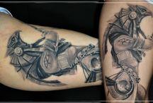 My work tattoo / Все, что здесь есть- выполнено мной