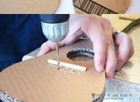 gitár kartonból