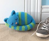 gato crochet