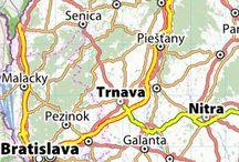 online mapy / stránky s online mapami