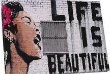 Street art & Bansky