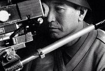 Akira Kurosawa (23.03.1910 – 06.091998) / Акира Куросава - японский кинорежиссёр, сценарист и продюсер. Считается одним из самых влиятельных кинорежиссёров за всю историю кино. Куросава создал 30 фильмов в течение 57 лет своей творческой деятельности. Акира Куросава по праву считается классиком японского кино, чье творчество оказало огромное влияние не только на национальный, но и на мировой кинематограф. Причем за рубежом он всегда пользовался большей популярностью, чем у себя дома.