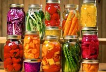 DIY canned food / .....very convenient since they make most fruits and vegetables available all year long.
