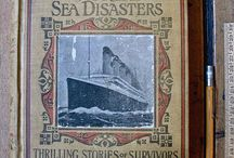 Titanic / The Titanic, that unsinkable ship sunk durring on the night of 14 April and the morning of 15 April 1912, so it has now been a century since this tragic event.  Lisa McDonald has a very great board that she has created in honor of the Titanic, it is worth checking out...
