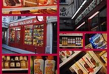 Epiceries anglaises et restaurants anglais en France - British Food in France / Produits anglais - British Food - Cuisine Britannique