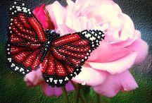 pillangók,bogarak