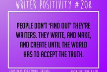 Writing positivity